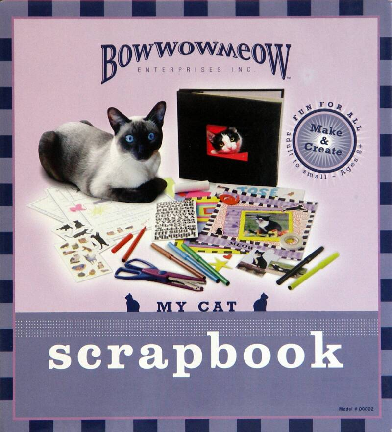 cat scrapbook kit
